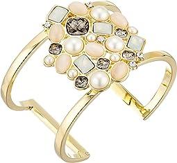 Gold/Carnelian Cats Eye/Ivory/Greige/Sand Opal/Crystal