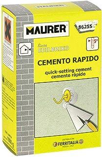comprar comparacion MAURER 14010307 Edil Cemento Rapido (Caja 5 kg.)