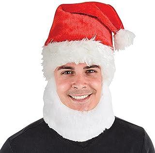 Rhode Island Novelty 15 Santa Hat W/Beard