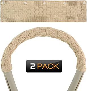 Geekria ヘッドバンドカバー Sony WI-1000X, WI-H700, MDR-EX750BT, JVC XX HA-FX33XBT, Samsung Level U Pro 等ネックバンド型のヘッドセット用 保護 毛糸編み