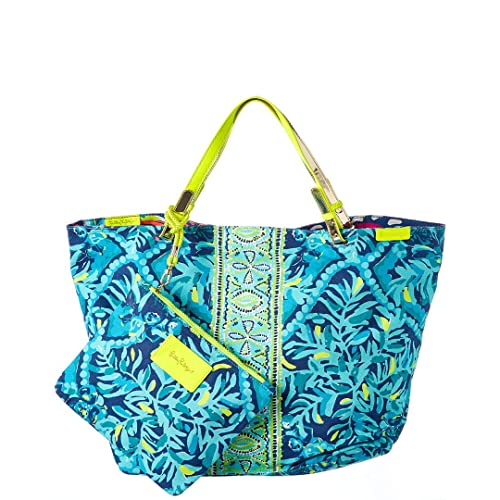 de9621342a Lilly Pulitzer Beach Bathers Reversible Tote Bag