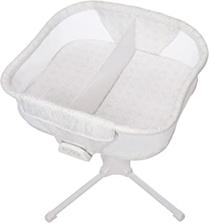 HALO Bassinest Twin Sleeper Double Bassinet ? Premiere Series Sand Circle