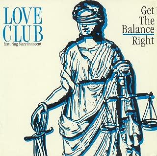 Get the balance right (7:10min., 1990, feat. Marc Innocent; Depeche Mode-cover version) / Vinyl Maxi Single [Vinyl 12'']
