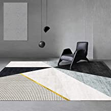 Large Area Household Carpets in The Living Room, Modern and Simple Washable Bedside Rug in The Bedroom (8Mm),A,120x160cm