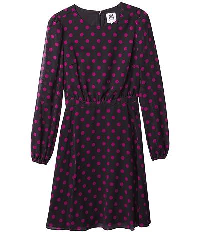 Milly Minis Elma Polka Dot Dress (Big Kids) Girl