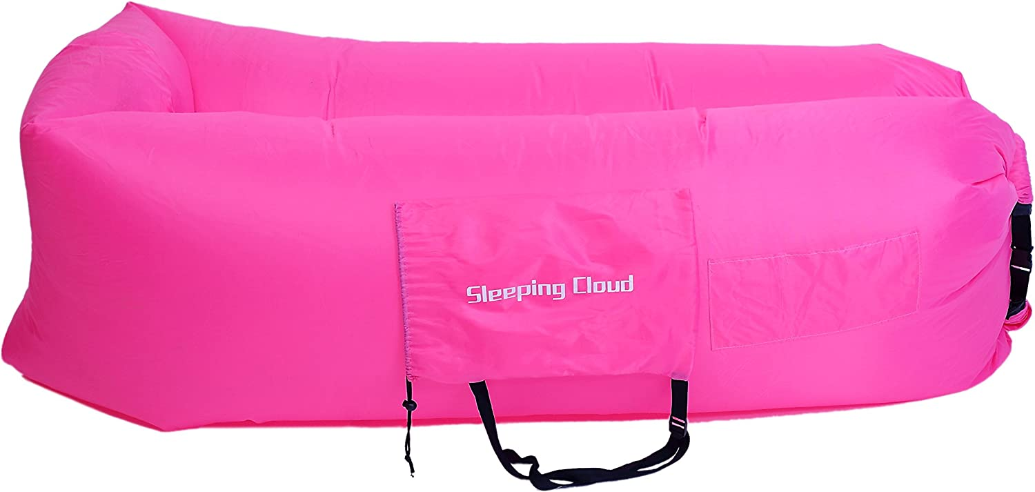 Sleeping Cloud Inflatable Sofa Sleeping Air Bed Chair Cushion For Rest Outdoor Camping Reading