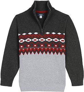 IZOD Boys' Half Zip Sweater
