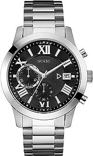 Guess watch W0668G3 Man Black Steel Chronograph,