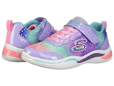 SKECHERS KIDS Sport Lighted Power Petals 20335L (Little Kid/Big Kid) (Lavender/Multi) Girl