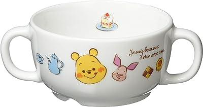 ディズニー 「 くまのプーさん 」 プーさん 軽量強化 幼児用 ブリオン(両手スープカップ) 200ml 子供用 食器 白 806105