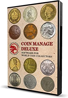 CoinManage Deluxe 2019. Coin Inventory Software for USA, Canadian & UK Coin Collectors.