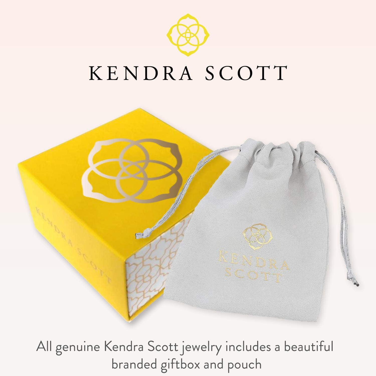 Kendra Scott Ari Heart Stud Earrings for Women Fashion Jewelry