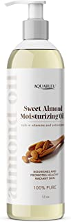 Sponsored Ad - Aquableu's Sweet Almond Moisturising Oil – All Natural Ingredients – Deeply Moisturising and Cleansing, For...