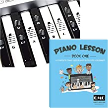 Piano and Keyboard Stickers and Complete Piano Music Lesson
