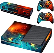 SKINOWN Xbox 1 Cosmic Nebular Skin Sticker Vinly Decal Cover for Xbox One(XB1) Console and 2 Controller with 1 Kinect Skins