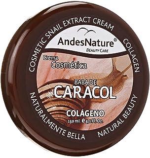 کرم حلزون Andes Nature 3 Pack-Orgánica Baba De Caracol Anti Envejecimiento Arruga Acné Cicatriz