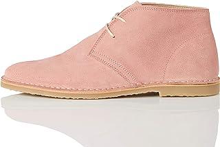 Marchio Amazon - find. Desert Boot 2 Polacchine, Rosa (Pink), 40 EU