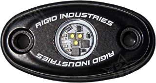 Rigid Industries 480033 A-Series, Cool White, Black Housing, Rock Low Power, LED Light Universal
