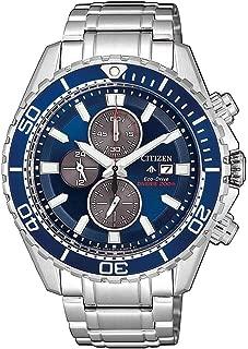 CITIZEN 西铁城 男士指针式石英手表不锈钢表带 CA0710-82L