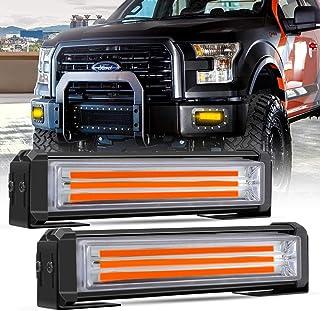 AUXTINGS Barra de luz LED ultra delgada de 20 pulgadas 90W con soporte de montaje para IP67 Impermeable para Off-Road,Cami/ón,Coche,ATV,SUV,Barco