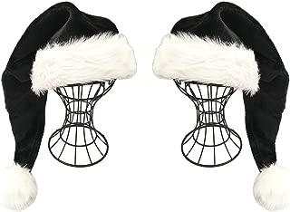 Best black trim santa hat Reviews