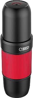 eCAFE Electric Portable Espresso Machine - 2 in 1 compatible with Nespresso Capsule & Ground Espresso/Coffee Option Automatic Espresso Maker Small Travel Coffee Maker - EC001 - Red