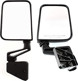 Mirror Manual for 97-2002 Jeep Jeep Wrangler (TJ) Left & Right