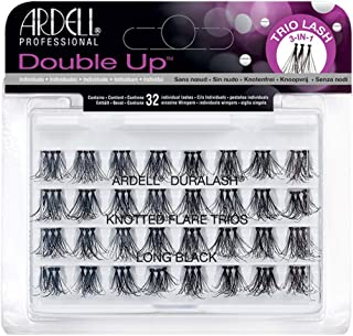 Ardell Double Up - Knotted Flare Trios - Long Black