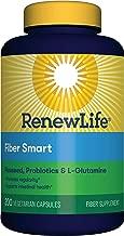 Renew Life Adult Fiber Supplement - Organic Clear Fiber, Dietary Fiber - 200 Vegetable Capsules (Packaging May Vary)