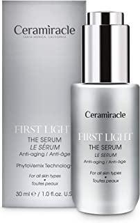 Ceramiracle First Light The Serum, Anti-Aging Beauty Serum Inspired by Vernix Caseosa, Hydrates and Nourishes to Bring Back Baby Soft Skin, 1.0 fl oz