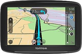 TomTom GPS para coche Start 52, 5 pulgadas, mapas de la UE, prueba gratuita de alerta de radares, soporte reversible integrado
