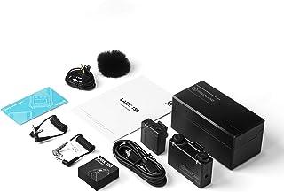 【Hollyland公式販売】【技適認証】Hollyland Lark150 2.4GHzワイヤレスマイクシステム 1台送信機・1台受信機セット 三種の音声出力 21段階ゲイン調節 18時間使える 充電ケース付 スマホ、パソコン、SLR、ビデオ...