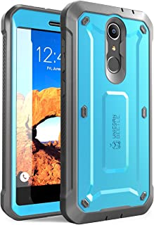 ZTE Blade Spark Case, SUPCASE Unicorn Beetle PRO Serie Full-Body Rugged Holster Case with Built-in Screen Protector for ZTE Blade Spark ZTE Grand X 4 and ZTE X 4 2017 ReleaseRetail Package (Blue)