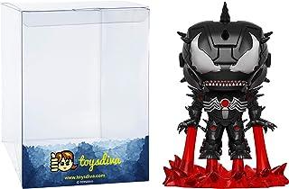 Funko Venomized Iron Man: Venom x POP Marvel Vinyl Figure & 1 PET Plastic Graphical Protector Bundle [ 365 / 32687 - B]