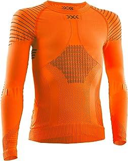 X-Bionic Invent 4.0 Shirt Round Neck Long Sleeves Junior Capa De Base Camiseta Funcional Unisex niños