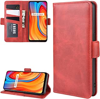 Realme C3 Case, Gift_Source Premium PU Leather Wallet Book Style Phone Case Flip Foldable Kickstand Cases Magnetic Closure...
