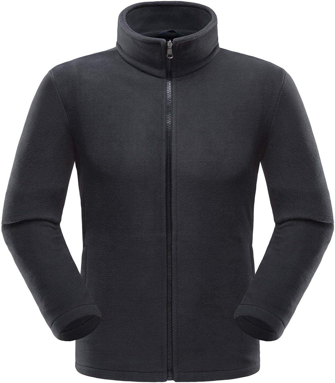 Mens 3-in-1 Jacket Winter Waterproof Outdoor Jackets Hooded Ski Coat with Detachable Liner Fleece Jacket Windproof Softshell Thicken Warm Outwear