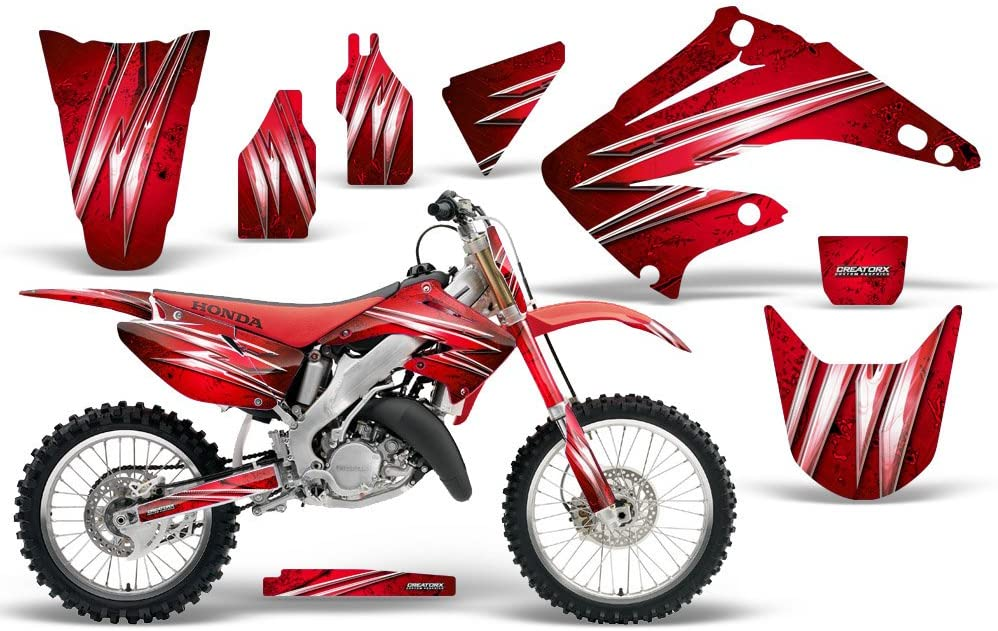 CreatorX Graphics Kit Decals Stickers for Cr 125 250 Honda Max 76% OFF Cold Luxury
