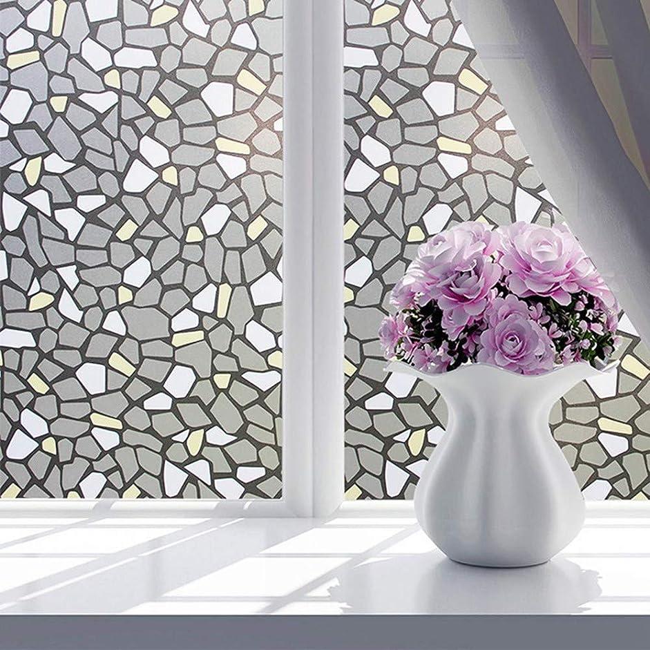 万歳直面するトーンガラスフィルムウィンドウフィルムタンポポ半透明不透明静電つや消しウィンドウフィルム浴室寝室ウィンドウステッカーdiyホームデコレーション、90x200cm