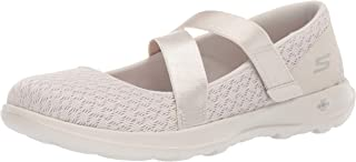 Skechers Womens Go Walk Lite - 15467 Mary Jane Flat