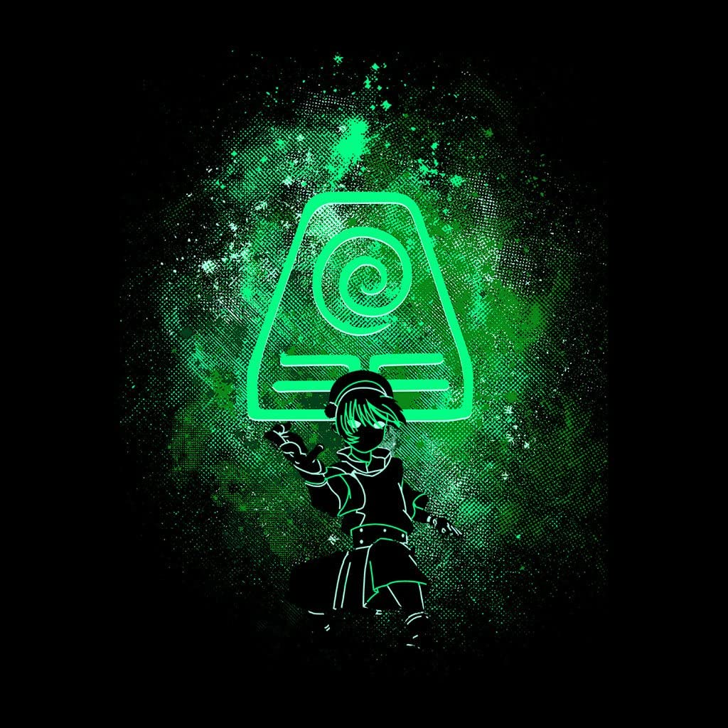 Avatar The Last Airbender Toph Art Earth Symbol Women's T Shirt ...