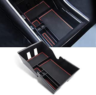 YEE PIN Model 3 Console Centrale Boîte de Rangement Accessoires de Console pour Tesl a Modèle3 Boîte à Gants Accoudoir Org...