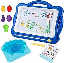 SGILE Pizarra Magnética Infantil, Grande Color Magnético Doodle Sketch Pad, Juguetes Niños No Tóxico para Niños Infantiles, 41x23