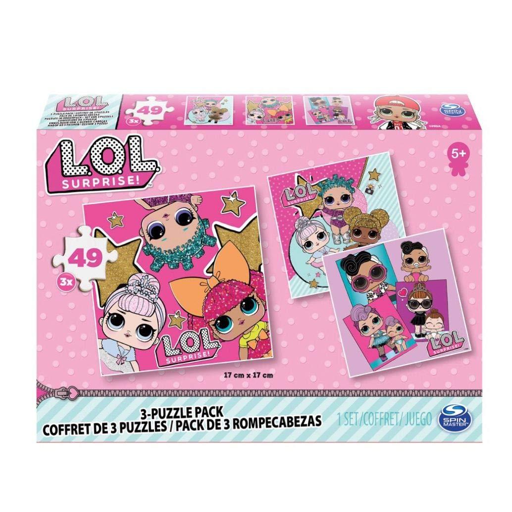 L.O.L. Puzzle 3 Pack Bundle - Rompecabezas (Rompecabezas de ...
