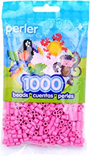 Perler Beads 1,000 Per Package - Bubble Gum (Pack of 3)