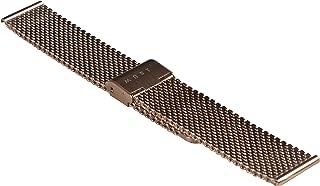 Cinturino bracciale per orologio in metallo acciaio MESH Maglia Milano Milanese