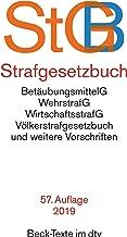 StGB Strafgesetzbuch : BetäubungsmittelG, WehrstrafG, WirtschaftsstrafG, Völkerstrafgesetzbuch und weitere Vorschriften