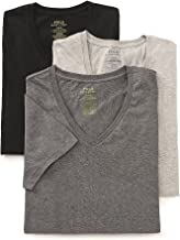 Polo Ralph Lauren Classic V-Neck T-Shirts 3-Pack, XXL, Assorted Grey