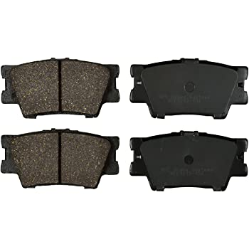 Premium Ceramic Brake Pad Rear Set KFE Ultra Quiet Advanced Compatible with: Toyota Camry, RAV4, RAV 4, Avalon, Matrix; Lexus ES300h, ES350, HS250h; Pontiac Vibe KFE1212-104