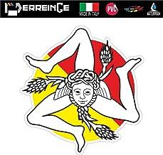 erreinge Sticker DIVIETO di Accesso Adesivo Sagomato in PVC per Decalcomania Parete Murale Auto Moto Casco Camper Laptop cm 10